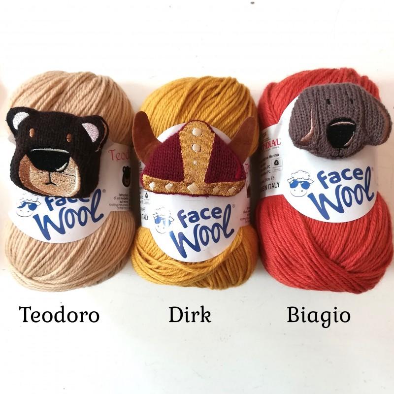 Face Wool  - Teodoro