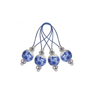 Marcadores de Malhas Zooni - Blooming blue