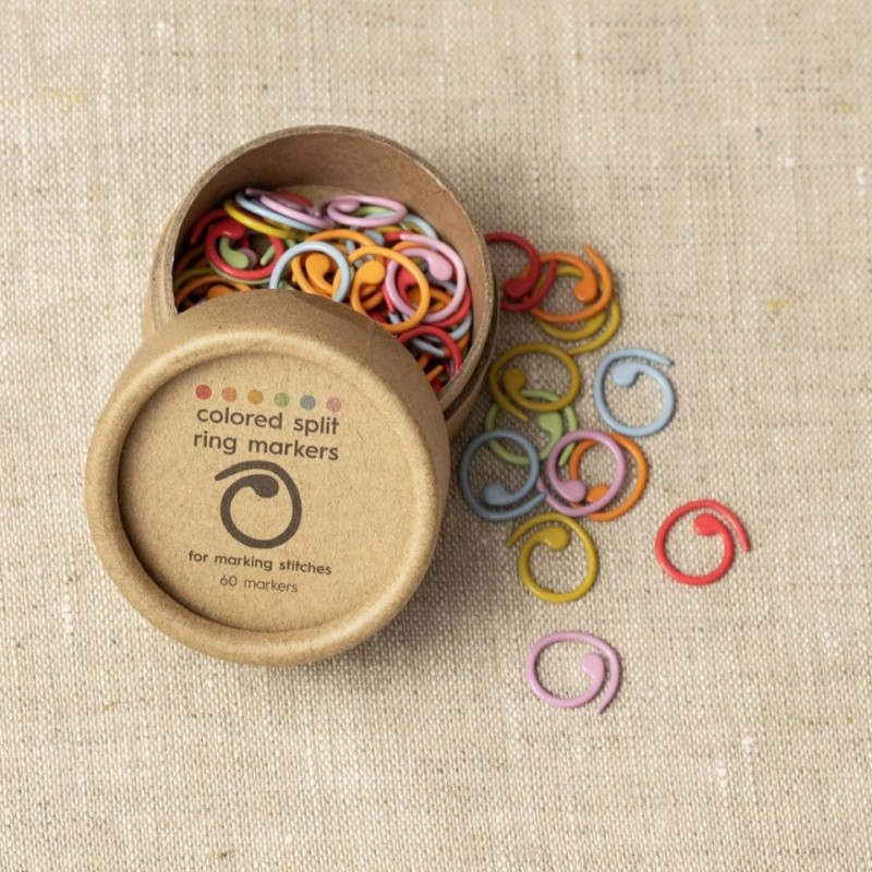Cocoknits - Marcadores Coloridos Abertos